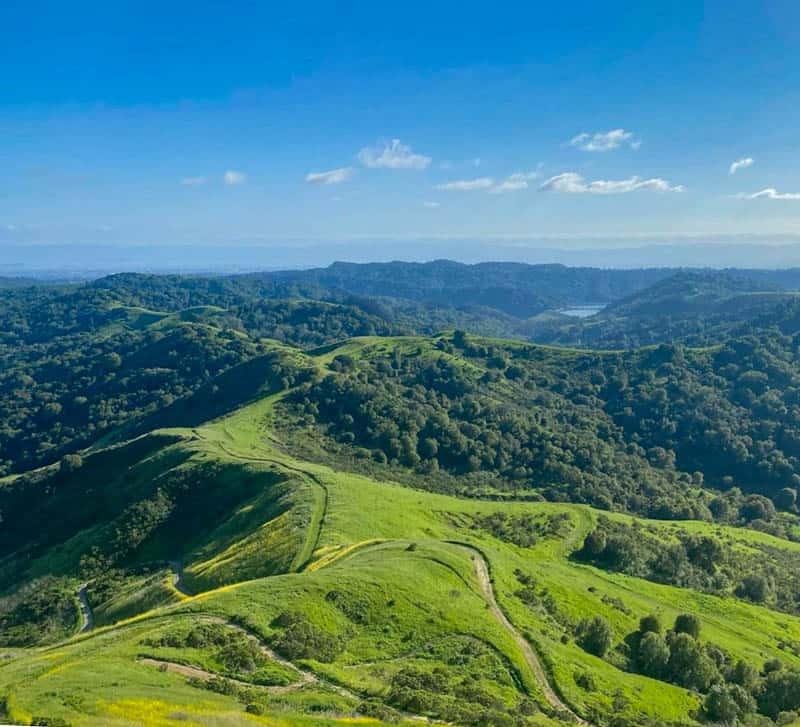 Las Trampas Regional Wilderness Preserve San Ramon California