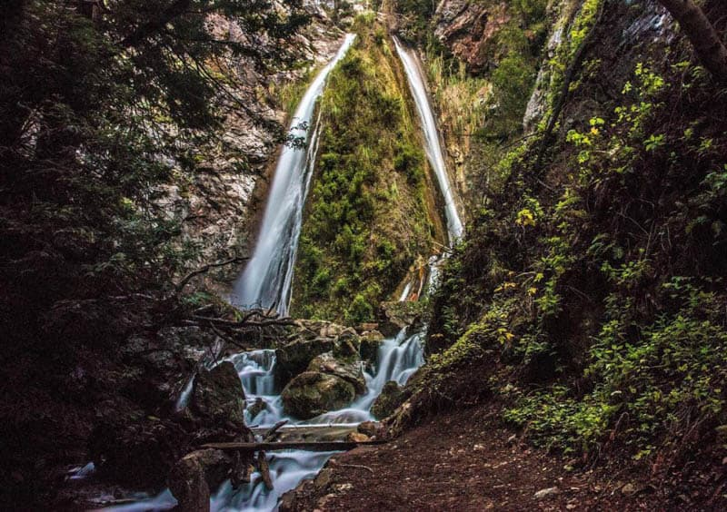 Limekiln Falls Big Sur California