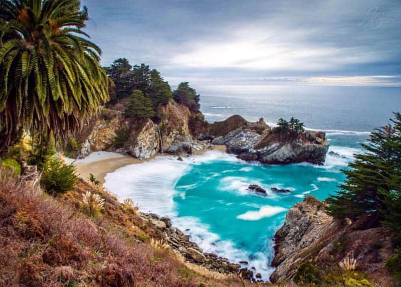 McWay Falls is one of the most popular Big Sur attractions!