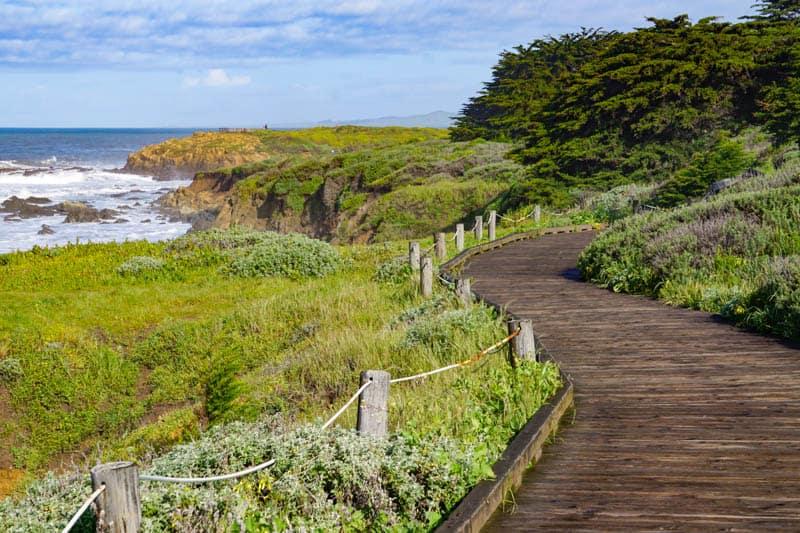 Moonstone Beach Boardwalk Cambria California