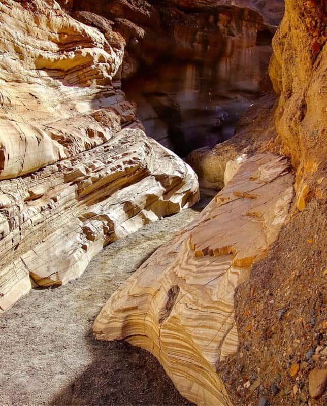 Mosaic Canyon Narrows Death Valley California