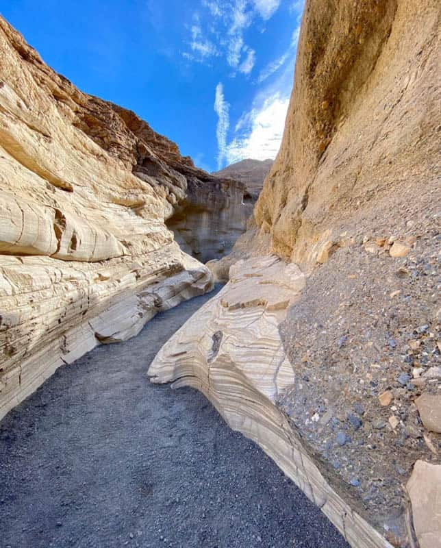 Mosaic Canyon Trail Death Valley NP California