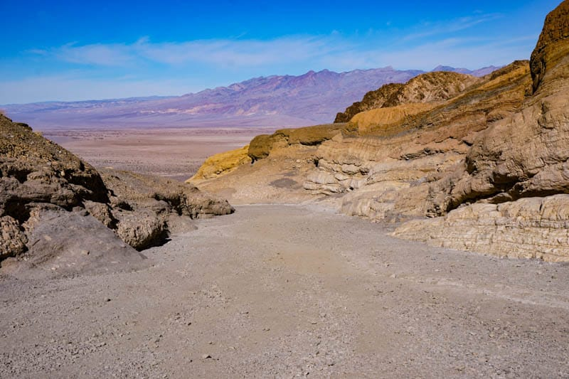 Mosaic Canyon in Death Valley NP California