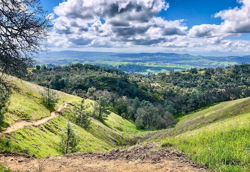 Mount Diablo State Park Contra Costa County California
