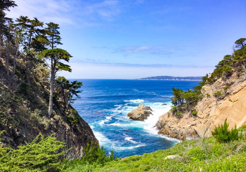Ocean Views at point Lobos State Park California