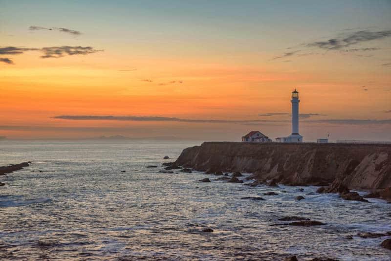 Point Arena Lighthouse mendocino Coast California