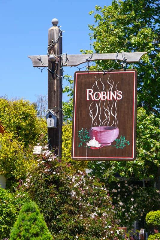 Robin's Cambria California