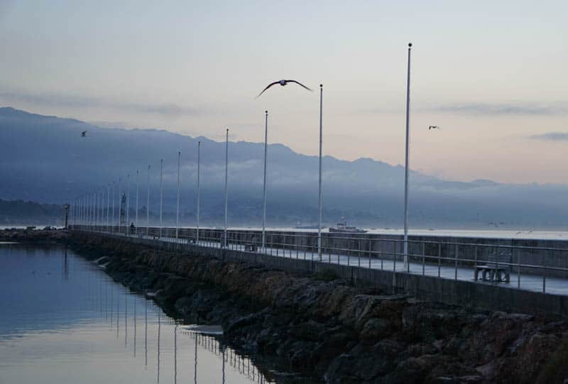 Santa Barbara Harbor Walk at Dawn