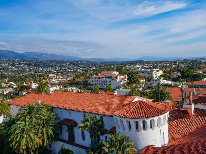 Your Santa Barbara itinerary should include the County Courthouse Clock Tower!