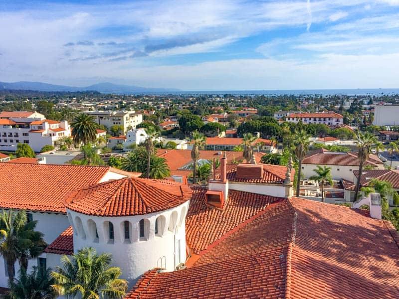 Santa Barbara on California's Central Coast