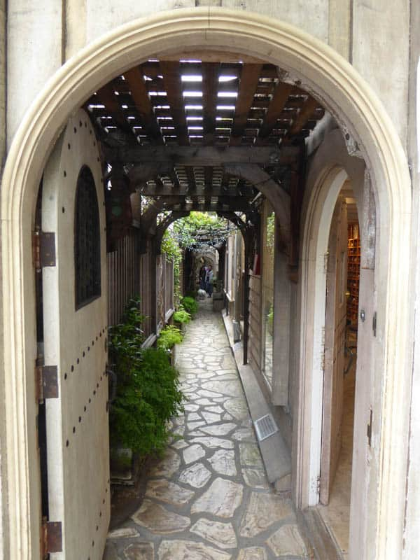 Secret Passageway in Carmel California