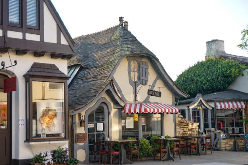 The Tuck Box in Carmel-by-the-Sea California