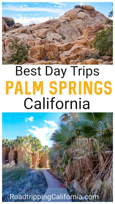 Discover the best day trips from Palm Springs, California? Explore the desert, mountains, lakes, coast, cities, and towns!