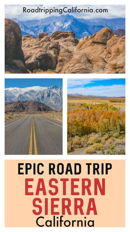 Discover the perfect itinerary for a Highway 395 road trip through the Eastern Sierra of California! Day by day description of route from LA to South Lake Tahoe. What to see and do, where to stay, and where to eat.
