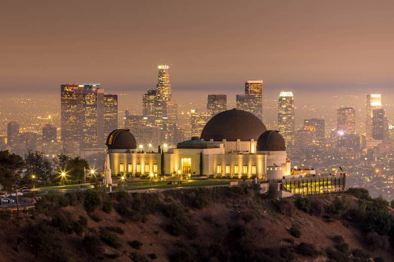 Griffith Observatory Los Angeles at Night