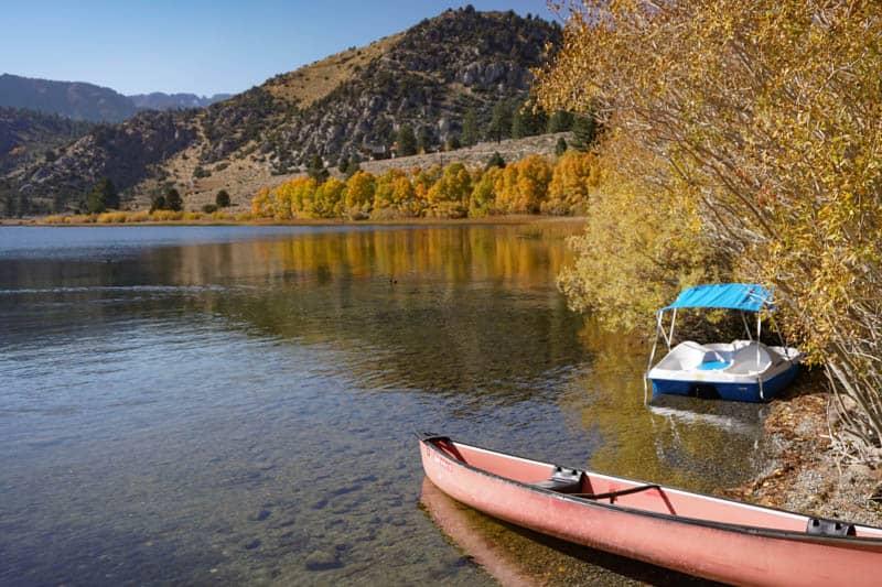 Gull Lake on the June Lake Loop