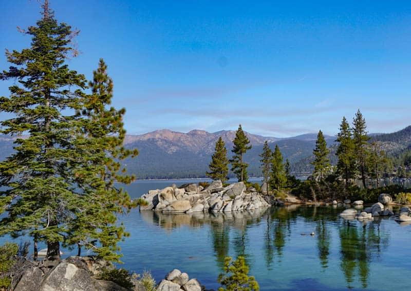 Lake Tahoe in the High Sierra