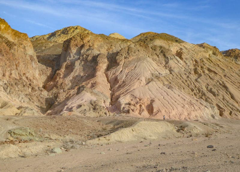 Landscape in Death Valley National Park California