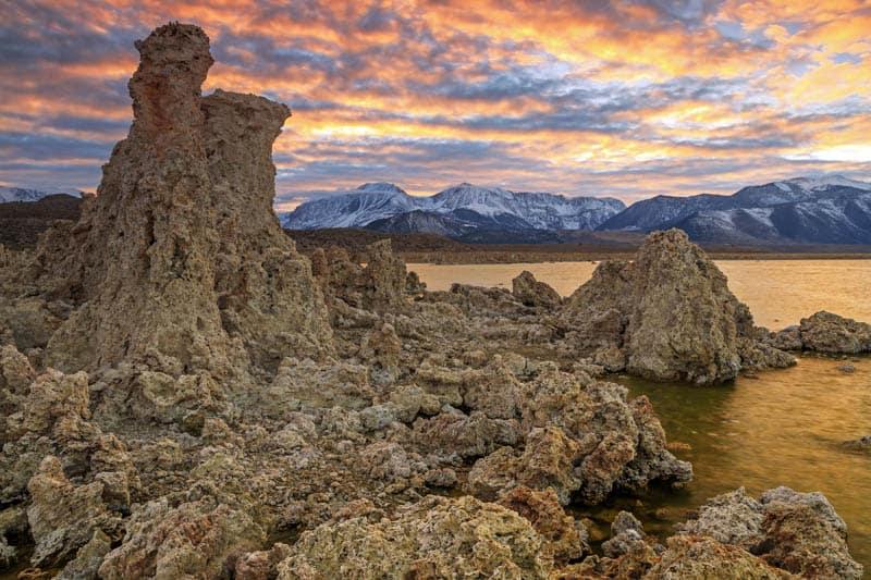 Mono Lake Tufas Eastern Sierra California