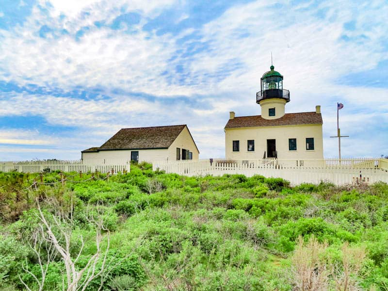 Old Point Loma Lighthouse Cabrillo NM San Diego California