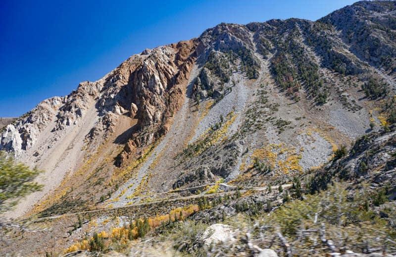 Road to North Lake Bishop california