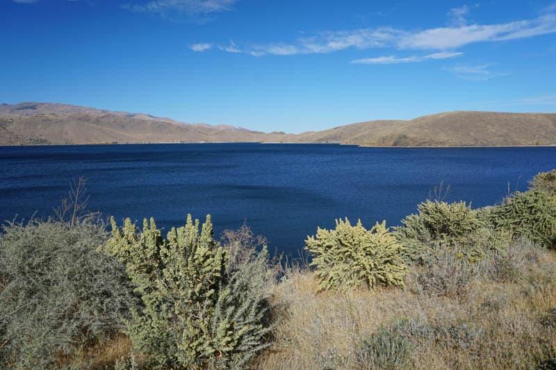 Topaz Lake Eastern Sierra