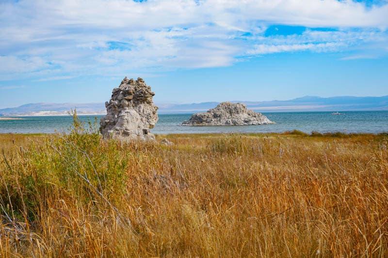 Tufas in Mono Lake California