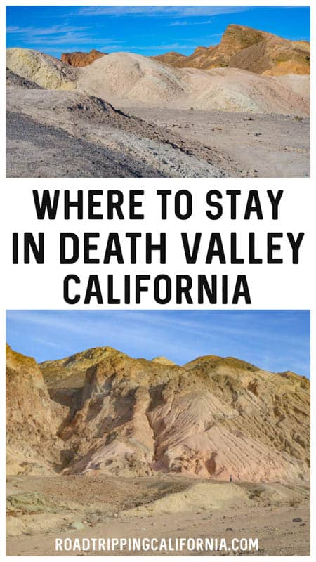Discover the best places to stay in and around Death Valley National Park in California!