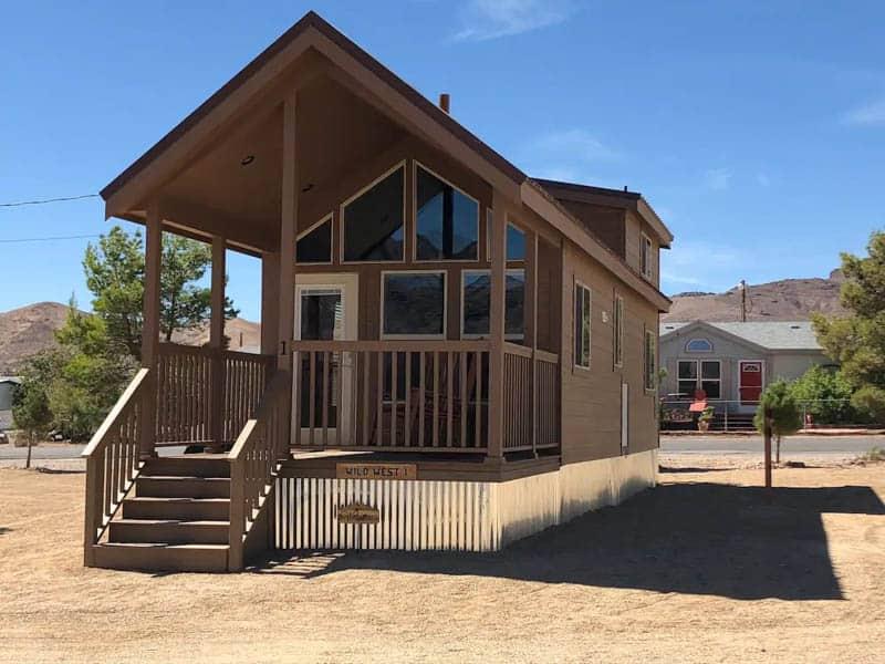 Wild West Cabin AirBnB Beatty