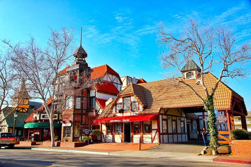 Pretty architecture in Solvang California