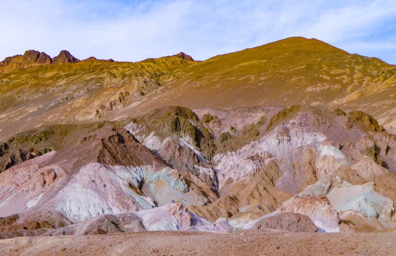 Artist's Palette is a must-see in Death Valley National Park California