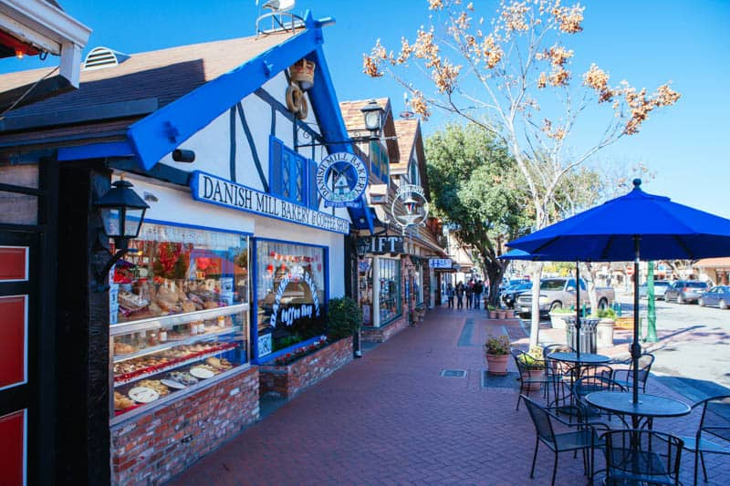 Visiting a bakery is one of the most fun things to do in Solvang California!