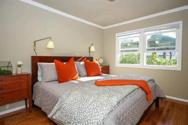 Bedroom Calistoga Bungalow
