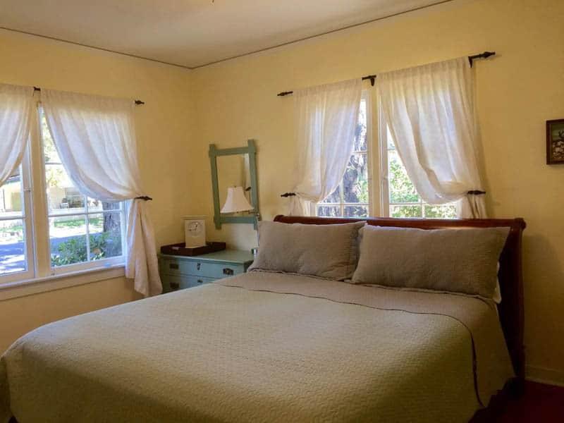 Bedroom Yellow House Napa