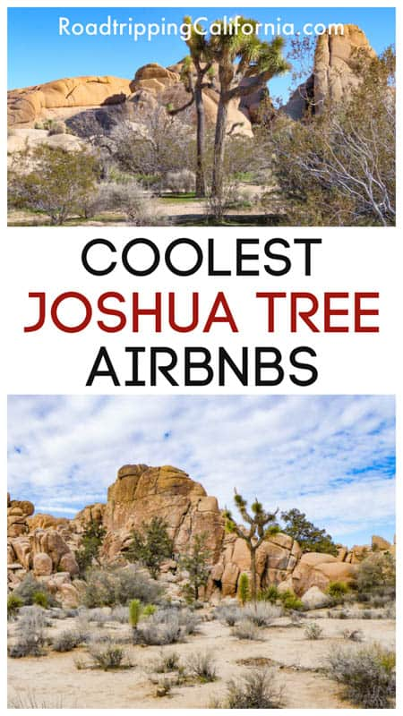 Discover the best Airbnb stays in Joshua Tree in Southern California! Pick from tiny homes, Airstreams, and upscale homes with cool desert vibes!  Best Joshua Tree Airbnbs | Best Joshua Tree Vacation Rentals | Where to Stay in Joshua Tree