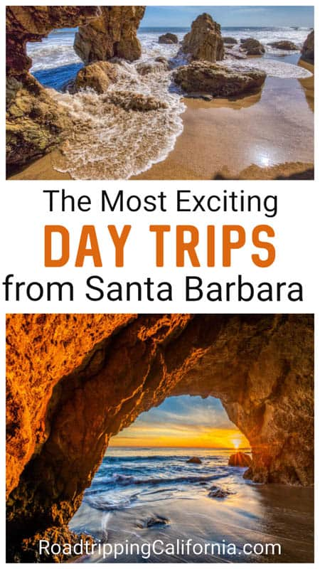 Discover the best day trips from Santa Barbara California, from coastal towns to beach towns and wine country to state parks.