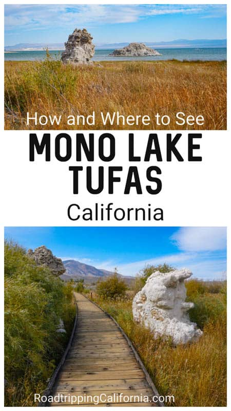 Discover how and where to see the Mono Lake Tufas in the Eastern Sierra of California! The best views for photos and the best experiences at Mono Lake!