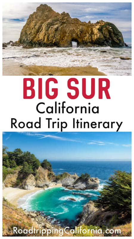 Discover the ultimate, detailed day-by-day itinerary for a Big Sur road trip on the California Coast!
