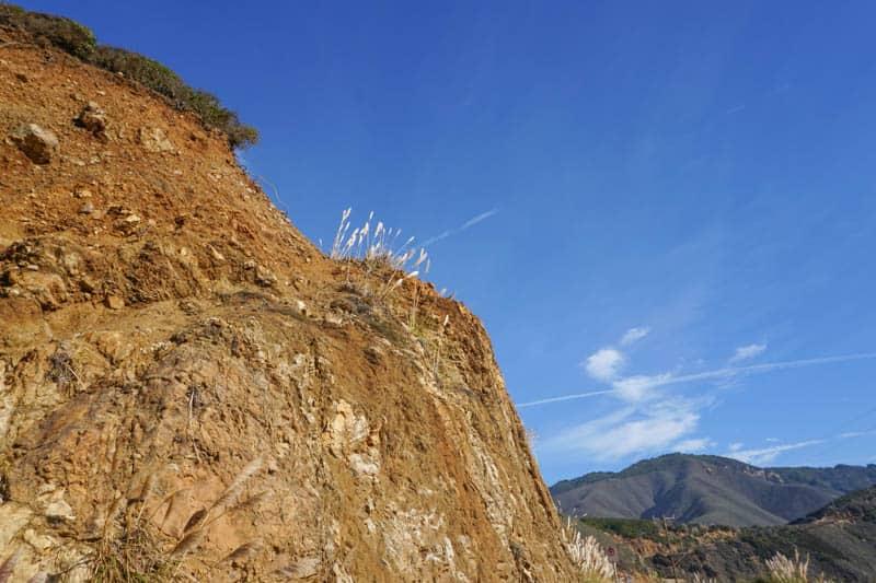 Cliff in Big Sur Callifornia
