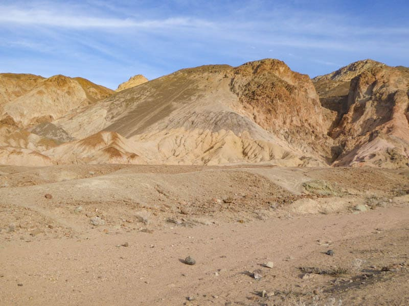 Landscape in Death Valley California
