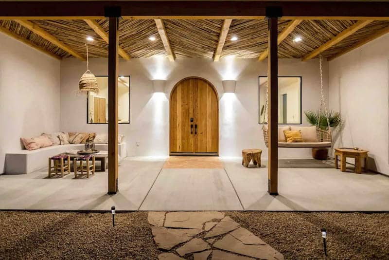 Desert Wild Airbnb Joshua Tree Front Patio