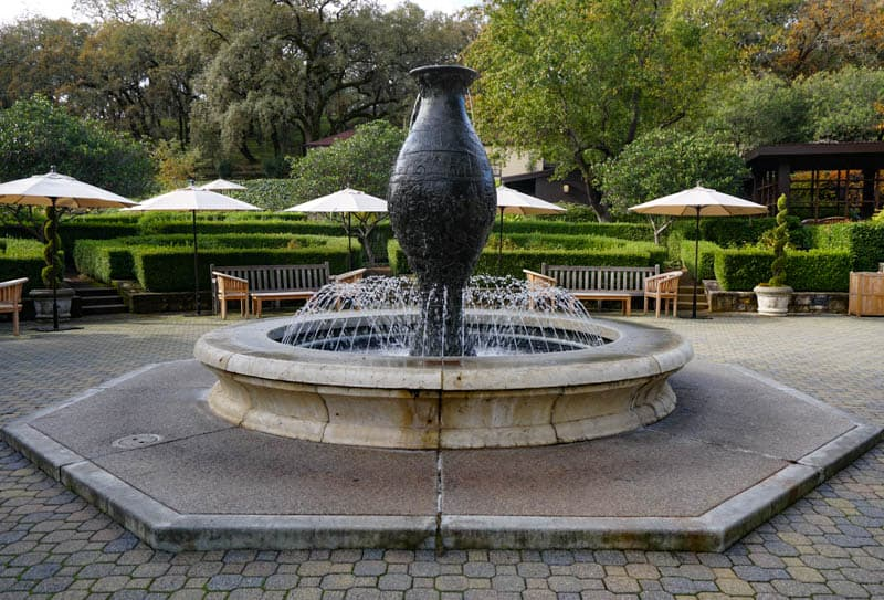 Fountain Beringer Vineyards Napa Valley California