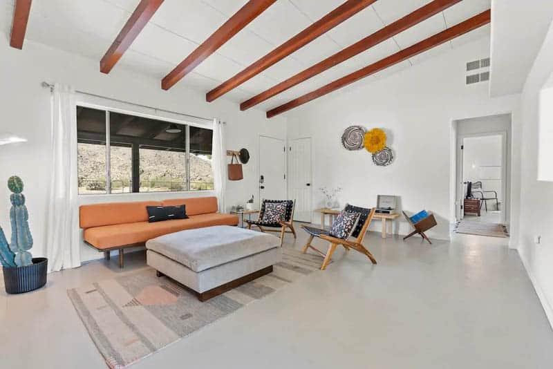 Hilltop Hideaway Airbnb Living Room