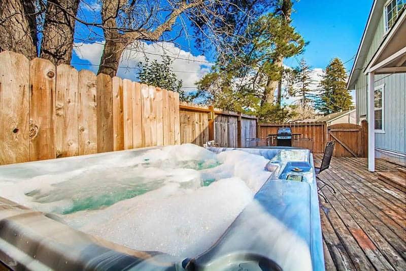 Hot Tub Napa Airbnb