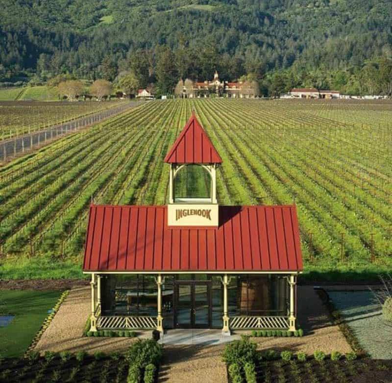 Inglenook Winery Napa Valley California