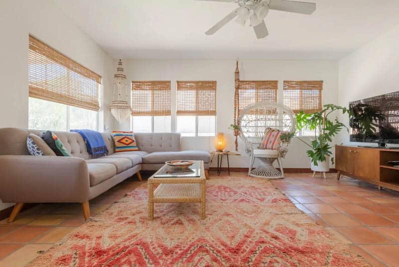 Casa Indian Cove Living Room
