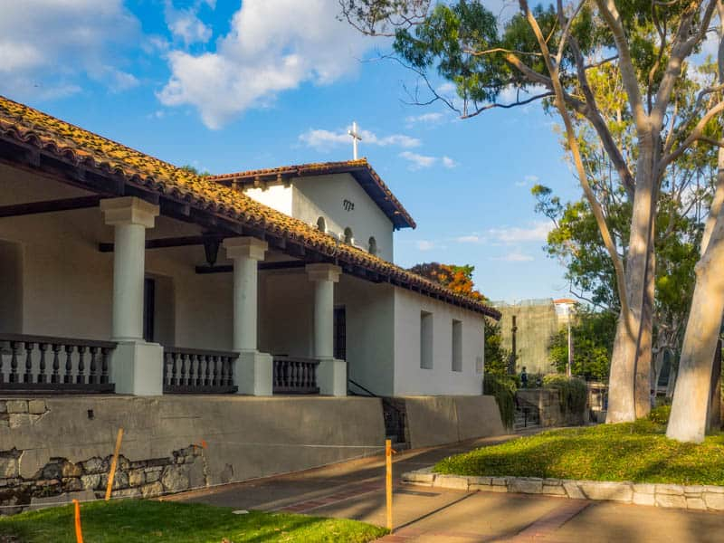 The Spanish Mission in downtown San Luis Obispo is a must-visit.