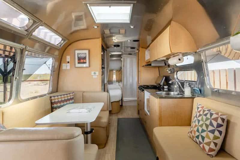 Modern Airstream Joshua Tree
