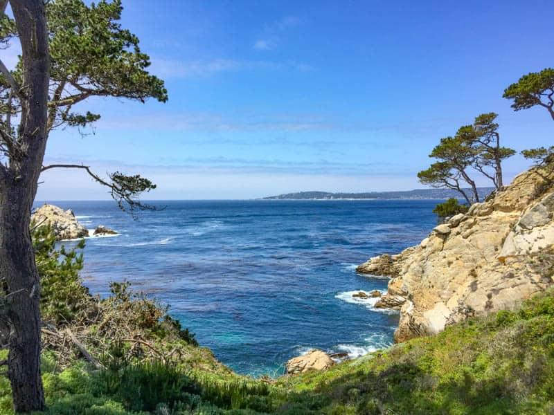 North Shore Trail Point Lobos State Park California