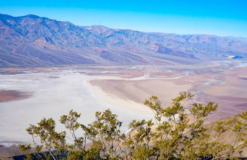 Panorama from Dante's View in Death Valley National Park California